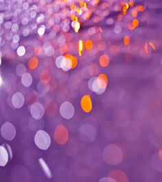 Purple Bokeh By Mark Chandler
