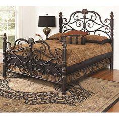 Largo Bella King Bed. Pretty pretty.