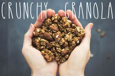 Crunchy Granola ( wheat, refined oil and sugar free)