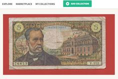 Bank of France Pasteur Banknote at kollectbox.com Buy or Sell at kollectbox.com - The marketplace for stamp, coin and banknote collectors #buy #sell #exchange #manage #marketplace #ecommerce #startup #papermoney #banknotes #numismatics #hobby #collectors #collectibles