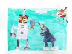 【kindergarten art 】子供の素敵な絵や工作をピンボードに集めています。 I send the children's art from Tokyo.  Art Education. Art workshop. Paintings of children. Work of children.  Blog ranking >> http://education.blogmura.com/bijutsu/  Official website >> http://www.gajyuku.com/  9/22の授業報告の画像:こども美術教室がじゅく 多摩・聖蹟桜ヶ丘studio