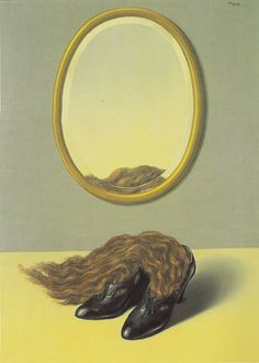 René Magritte, L'Amour désarmé (Love Disarmed), 1935.  (I know this is board is for living surrealist painters - but have you seen this Magritte before - I know I never have...)