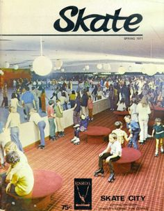 1960's roller rink | SKATE Covers from the 1950s/60s - Skating Reporter (1960 - 1965 ...