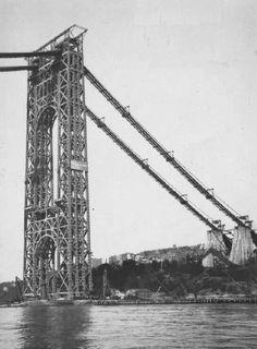 Fort Lee, Washington Heights, Hudson River, George Washington Bridge, Gw, Historical Photos, New Jersey, New York City, Travel