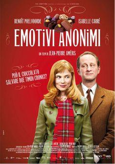 Emotivi Anonimi (J. P. Améris, 2010) è il cioccolato che libera Angélique, maestra cioccolataia, e Jean-René, proprietario di una fabbrica di cioccolato, dalle propria impasse emotiva.