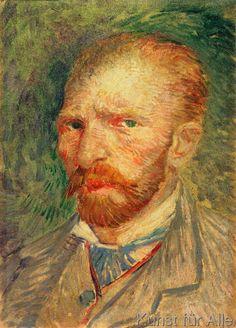 Vincent van Gogh - Selbstporträt, 1887