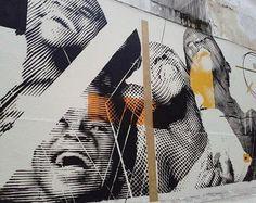 Pina Stencil in São Paulo, Brazil, 2016