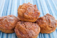 Cinnamon Crunch Sweet Potato Muffins...sweet potato/ww flour/applesauce
