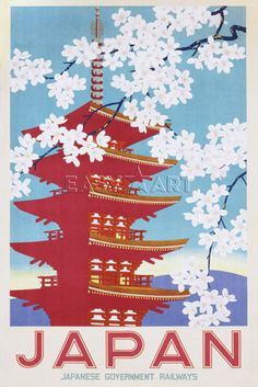Japan (Blossom) Poster