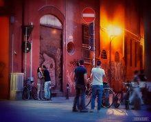 Under The Porticos Of Bologna