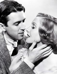 James Stewart and Jean Arthur (You Can't Take It with You, 1938)