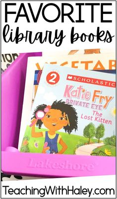 How to Find Great Classroom Library Books. By Haley O'Connor. In this blog post, I share with your great ways to get books and read-aloud for your primary classroom. Additionally, I'll be sharing my favorite authors, series, and titles for your primary classroom library! From easy readers for littlies, Penguin Young Readers books, diverse biographies readers, diverse character books, and more! Great for reading lessons in the classroom with kindergarten, first-grade students, and up!