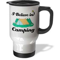 Cool! :)) Pin This & Follow Us! zCamping.com is your Camping Product Gallery ;) CLICK IMAGE TWICE for Pricing and Info :) SEE A LARGER SELECTION of camping glasses,cups and mugs at http://zcamping.com/category/camping-categories/camping-cooking-and-food/camping-glasses-cups-and-mugs/ -  #hunting #campingessential  #campingaccessories #campingutensils #kitchenutensils #campingcookware #camping #campinggear #campsupplies  -   I Believe In Camping – 14oz Stainless Steel Travel Mug «…