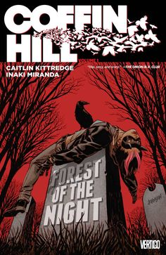 Coffin Hill is a horror story in graphic novel form that's somewhere between HP Lovecraft and Bauhaus: a genuinely scary and brilliantly told tale that's not afraid to show us its black…