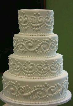 Wedding cake by sherry | We Heart It