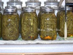 Hickery Holler Farm: Canning Green Beans