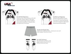 www.usarugbyclub.com custom rugby uniforms. Made in the USA. High End Quality Product. Single Order Custom Jerseys