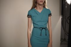 Resort 2016 - The Gibson dress in sea green by Roland Mouret #rolandmouret https://www.rolandmouret.com/product/resort2016/GIBSON-DRESS/SEA-GREEN