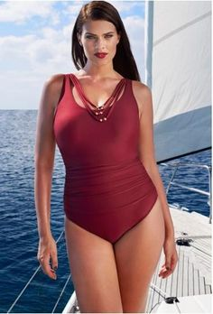 f71e290bbaf Online Cheap 2016 Plus Size Swimwear Xl 2xl 3xl 4xl 5xl One Piece Solid Color  Bathing Suits Swimming Suits Plus Size Swimsuits European Style By Janet521  ...