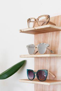 Renter Friendly DIY Sunglasses Holder