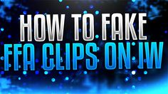 This video I expand on how you can fake clips on IW by delving into some FFA priv to pub methods of adding a match bonus, third player and mission team as we. Vfx Tutorial, Ffa, Videos, Youtube, Youtubers, Youtube Movies
