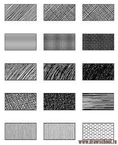 Рисование и живопись: Виды штриховки