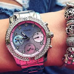 Wedding Hairstyles Our most-loved watch EVER Shop the Gradient Feminine Sport Watch by clicking the link in our bio Cheap Jewelry, Modern Jewelry, Wedding Shoes, Wedding Jewelry, Body Jewelry, Fine Jewelry, Jewlery, Men's Jewelry, Silver Jewelry