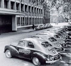 When a fleet of vintage cars were about to make the dream of home delivery a reality, 1949 Old Vintage Cars, Old Cars, French Vintage, Citroen Ds, Auto Peugeot, Automobile, Cars And Motorcycles, Dream Cars, Classic Cars