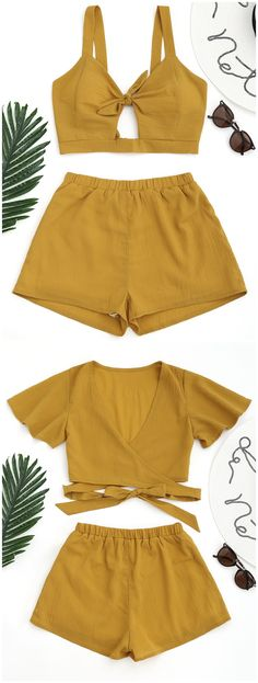 Up to 80% OFF! Tied Beach Crop Top With Shorts. #Zaful #CoverUps zaful,zaful outfits,zaful dresses,spring outfits,summer dresses,Valentine's Day,valentines day ideas,cute,casual,classy,lace,mesh,fashion,style,swimwear,swimsuits,beach cover ups,swimsuit cover,jumpsuits,rompers,playsuits,dressy jumpsuits,playsuits two piece,two piece outfits,two piece dresses,dresses,printed dresses,sundresses,long sleeve dresses,mini dresses,maxi dresses,bohemian dresses @zaful Extra 10% OFF Code:ZF2017