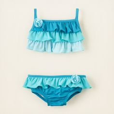 baby girl - colorblock bikini | Children's Clothing | Kids Clothes | The Children's Place