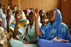 A school in Chad. Copyright USA for UNHCR. This is how the classrooms of the school's in Chad look like.