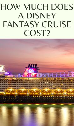How much does a Disney Fantasy Cruise really cost Join us to find out exaclty how much a Disney Fantasy cruise will cost for your family in 2022. #disneycruise #disney #DisneyCruiseTips Disney Fantasy Cruise, Disney Cruise Tips, Castaway Cay, Disney Dream, Caribbean, Sailing, How To Find Out, Join, Summer