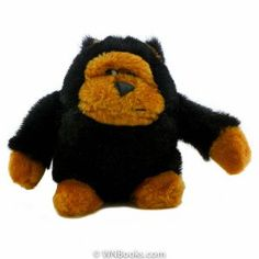 """Gorilla by Fable 1994        Price: $34.99    A gorilla or Ape you decide, dated by the tush tag 1994 this is an original design by the Fable Toy Corporation.    6"""" tall this gorilla sits nicely."""