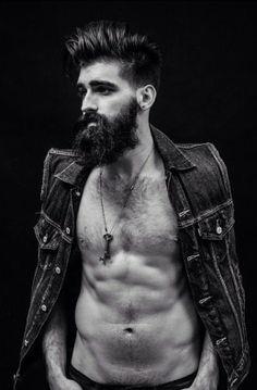isbotticelli: Want it now! I Love Beards, Hot Beards, Great Beards, Awesome Beards, Joel Alexander, Full Beard, Beard Tattoo, Pretty Men, Hair And Beard Styles