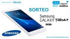 Adeslas Benidorm te invita al sorteo un Samsung GALAXY TabA7, 8 GB