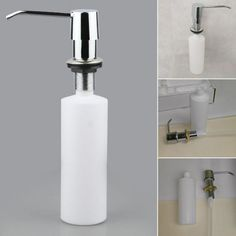 Bathroom Kitchen Hand Soap Dispensers Spray Liquid Soap Dispensers Plastic Bottle Kitchen Sink Replacement  9.99 and FREE Shipping  Tag a… Replacing Kitchen Sink, Soap Dispensers, Liquid Soap, Plastic Bottles, Fun Gadgets, Office Fun, Led, Free Shipping, Fashion Jewellery