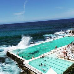 Bondi Icebergs Club, Bondi Beach ~ Stunning Sydney Pools That Will Make You Want To Jump Back In The Water Oh The Places You'll Go, Places To Visit, Bondi Icebergs, 500 Days Of Summer, Summer Time, Fiji Travel, Sydney Beaches, Beautiful Pools, Beautiful Places To Travel