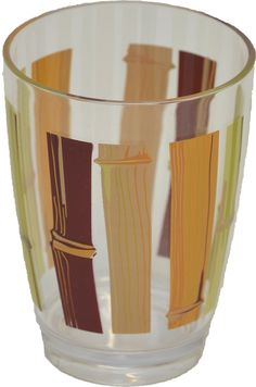 Merveilleux Java Clear Acrylic Printed Bathroom Tumbler