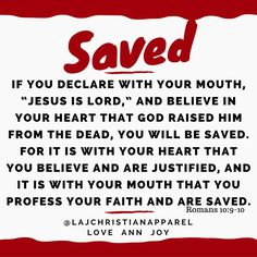 Romans 10:9-10
