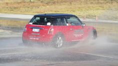 Panache Mini Cooper Chilli on the Skidpan demonstrating how ESP works and how to react when it kicks in! www.panachedrivertraining.com