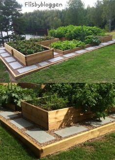 Herb Garden Design, Vegetable Garden Design, Garden Landscape Design, Herbs Garden, Garden Path, Diy Garden, Landscape Designs, Garden Club, Garden Planters