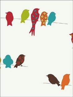Bird on a wire template - photo#51
