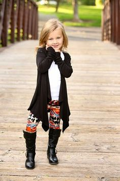 This darling cardigan features a drape front style. The perfect lightweight cardigan for the upcoming Fall season or use it to layer this winter! Comes in a variety of darling colors! Cute Little Girls Outfits, Little Girl Fashion, Toddler Fashion, Toddler Outfits, Kids Outfits, Kids Fashion, Cute Outfits, Toddler Girls, Fashion Ideas