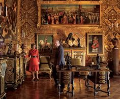 "Chatsworth ~ ""The state rooms were formal reception rooms for royal visitors,""…"