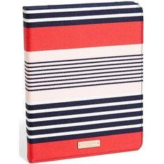 kate spade new york 'l'aventura stripe' iPad folio