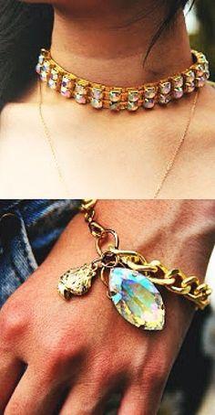 Iridescent Jewelry