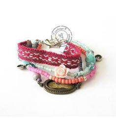 Handmade bracelet | Boho friendship | Made by @Wing-yu Chan Design - Danielle de Groot