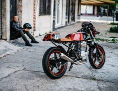 Honda CBF250 cafe racer | Marcelo De Coghlan photography
