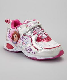 251ea3cbca4948 Sofia the First White   Pink Sofia the First Sneaker - Toddler   Kids. Disney  ShoesKid ...