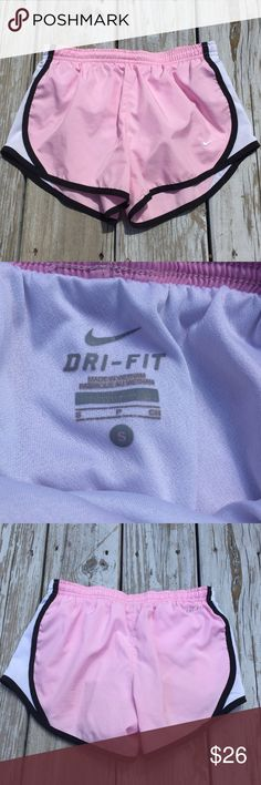 Light Pink Nike Dri-Fit Shorts In perfect condition. Only worn a few times! Nike Shorts